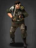 Survivor equipped with Wakizashi