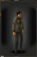 Military Shirt - Khaki equipped female