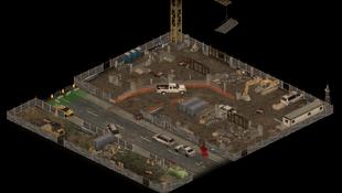 Construction site falt