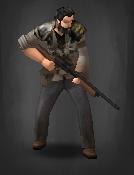 Survivor with Ambrose Shotgun TLSDZ