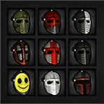 Infected Bounty Masks