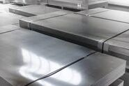 Hardened steel plate