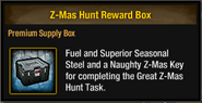 Tlsdz z-mas hunt reward box