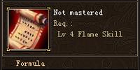 Red Flames Formula