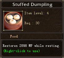 Stuffed Dumpling