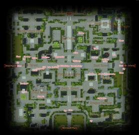 Da Li Area Map
