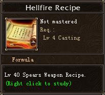 Hellfire Recipe