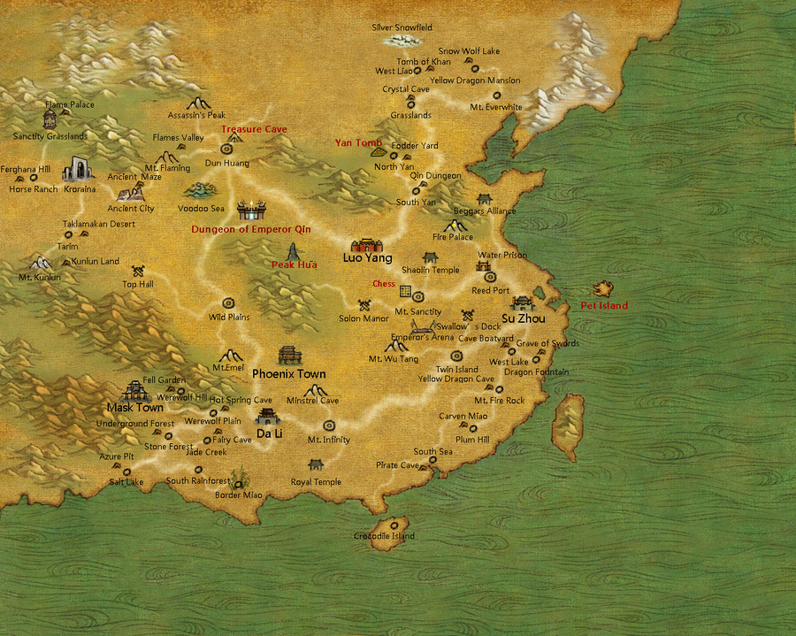 TLBB World Map