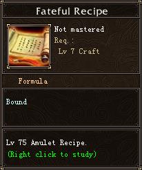Fateful Recipe