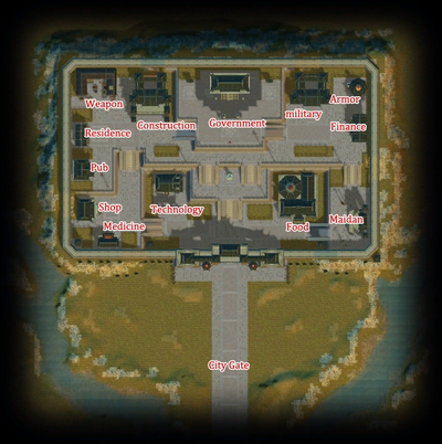 Guild City map