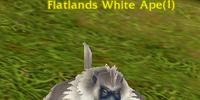 Flatlands White Ape
