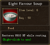 Eight Flavour Soup