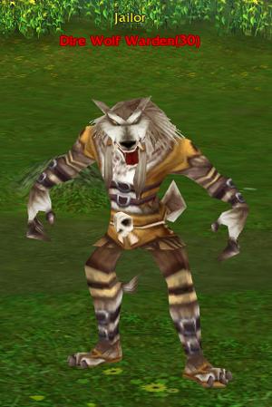 Dire Wolf Warden