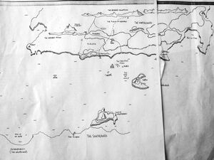 First draft map of Arcadia