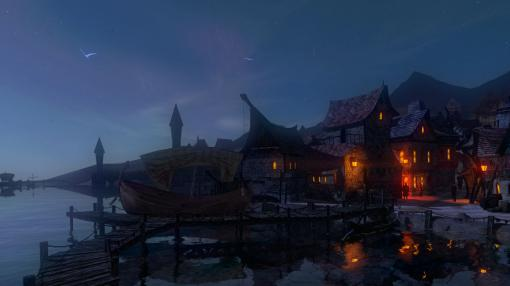 File:Sunset in Shady Quay (Dreamfall Chapters).jpg