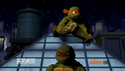 Mikey annoying Raph