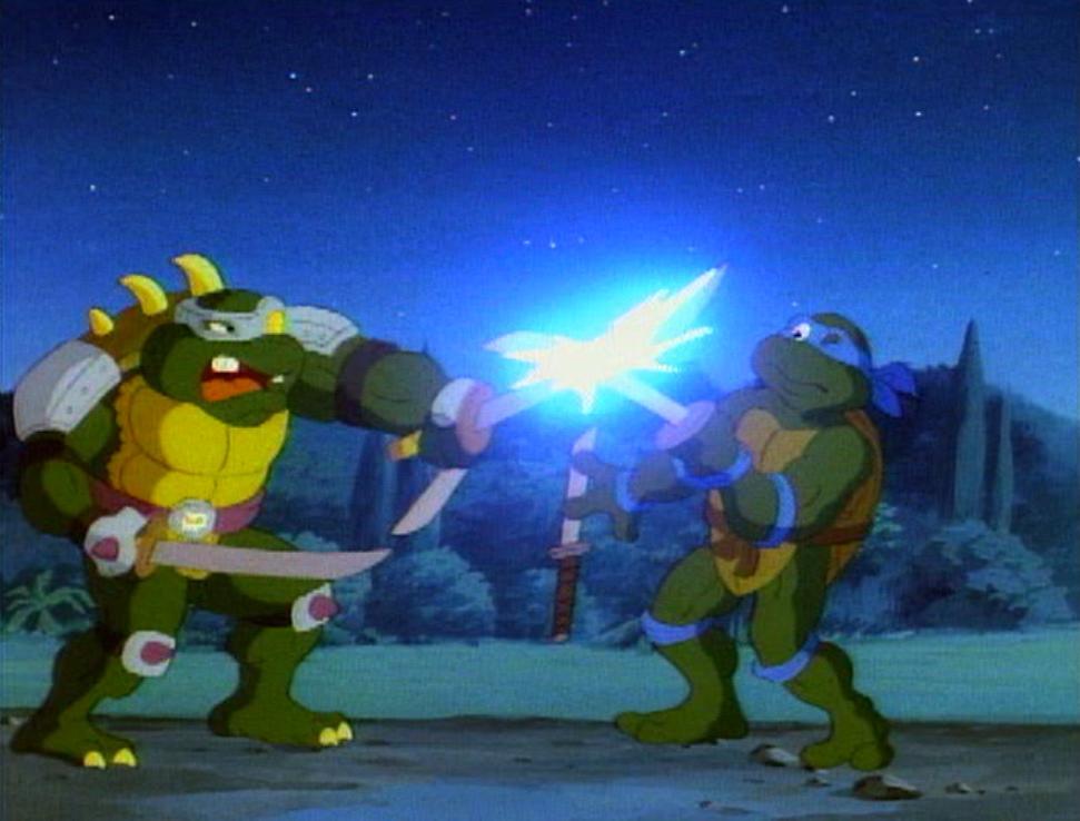 Teenage mutant ninja turtles slash