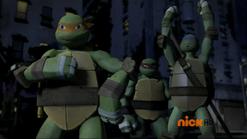 Mikey, Raph, Don
