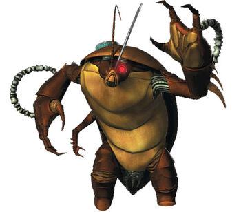 Popup bio cockroach