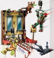 Nickelodeon-teenage-mutant-ninja-turtles-z-line-ninjas-playset-window-wipeout-new-4
