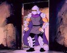 Shredder in hideout