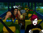 April & Casey, and the TMNT