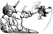 Triceraton gladiator
