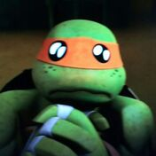 Michelangelo adorable eyes nickelodeon 2012 tmnt
