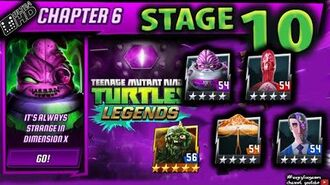 Chapter 6 STAGE 10 Walkthrough Teenage Mutant Ninja Turtles Legends ( TMNTLegends)