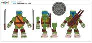MiniMates Leonardo concept art