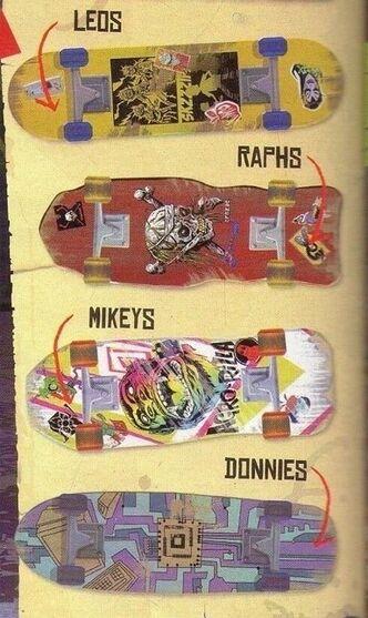 Tmnt skate boards