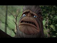 Bigfoot is sad