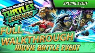 EVENT FULL RUN TMNT Out of the Shadows - Teenage Mutant Ninja Turtles Legends