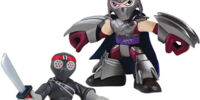 HSH Foot Soldier and Shredder (Action Figure)
