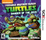 TMNT- DotO 3DS Cover