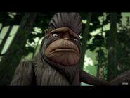 Bigfoot is depressed