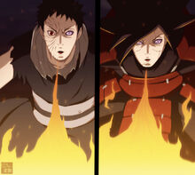 Madara and obito fire jutsu by aconst-d7scix6