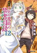 Shinyaku Toaru Majutsu no Index Light Novel v12 cover