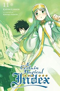 A Certain Magical Index Light Novel v11 cover