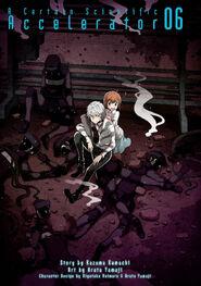 Toaru Kagaku no Accelerator Manga Volume 06 Title Page