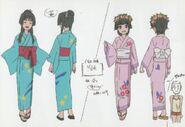 Saten uiharu yukata