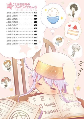 File:Toaru Nichijou no Index-san Manga v03 Table of Contents.jpg
