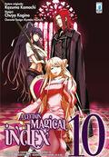 A Certain Magical Index Manga v10 Italian cover
