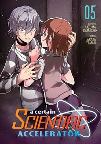 A Certain Scientific Accelerator Manga v05 Cover