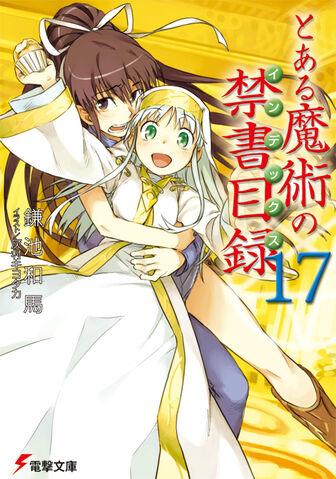 File:Toaru Majutsu no Index Light Novel v17 cover.jpg