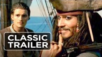 Pirates of the Caribbean The Curse of the Black Pearl Official Trailer 1 (2003) HD
