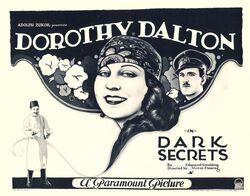 Dark Secrets 1923