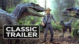 Jurassic Park 3 Official Trailer 1 - William H