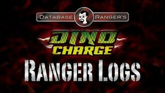 """Database Ranger's Dino Charge Ranger Logs DC02 """"Past, Present, and Fusion"""""""