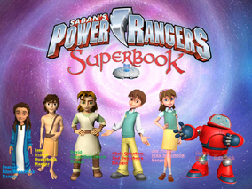 Power Rangers Superbook